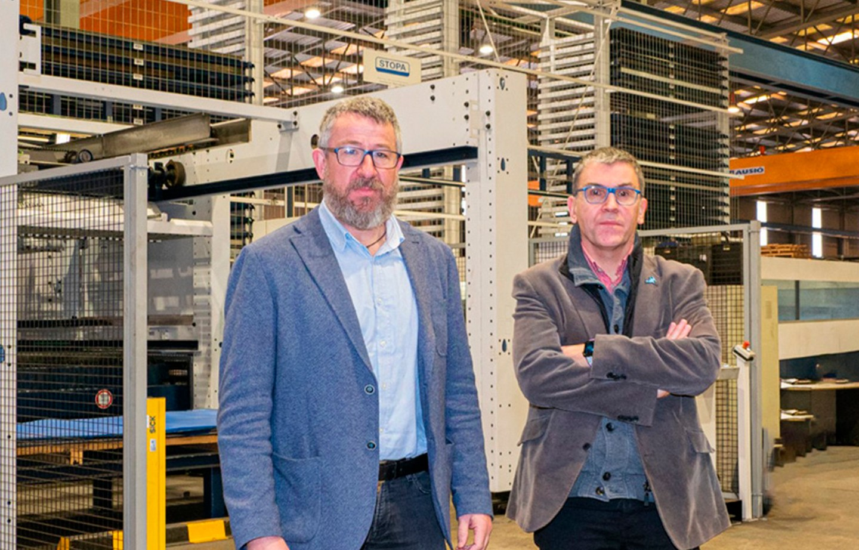Entrevista a Eduard Brunet y Jordi Rosell, en Eix Professional