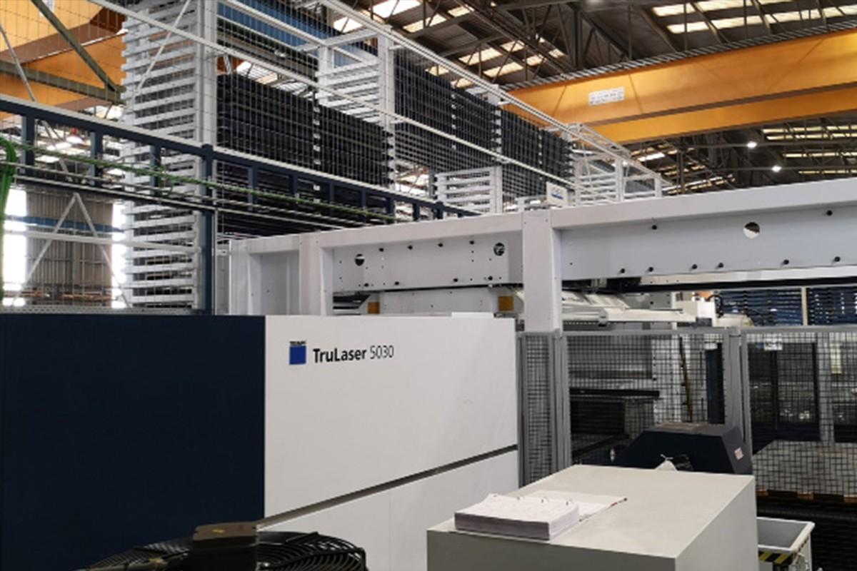 En marcha un almacén inteligente y una nueva máquina láser en Seva