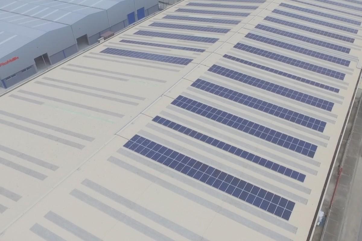 Seva estrena una de las plantas fotovoltaicas de autoconsumo más grandes de Cataluña