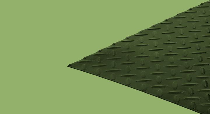 Steel plates - Teardropped - Mafesa