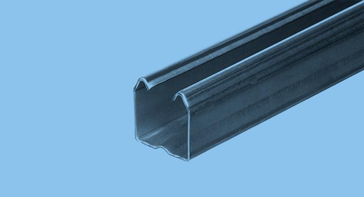 Perfils i xapes per a portes i tancaments - Perfil guia 5-PU-6 - Mafesa